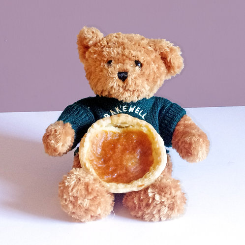 Pudding Shop Bear & Individual Pudding or Tart