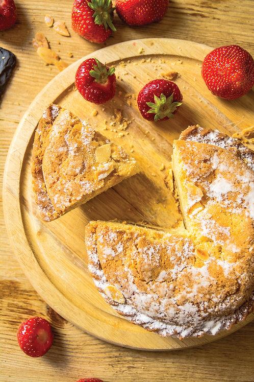 Original Flaked Almond Bakewell Tart