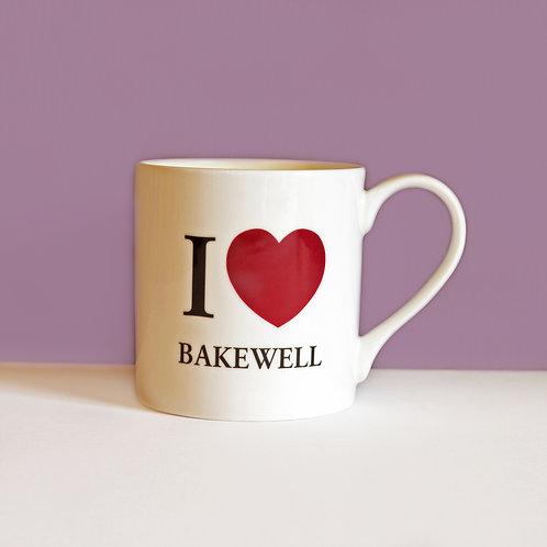 I Love Bakewell Mug