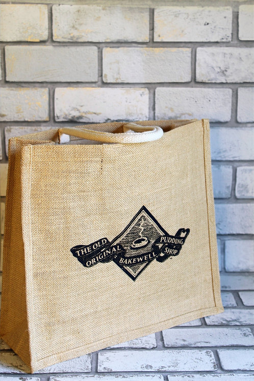 Bakewell Pudding Shop Jute Bag