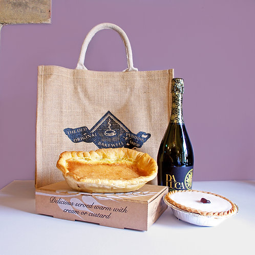 The Big Bakewell Prosecco Bag