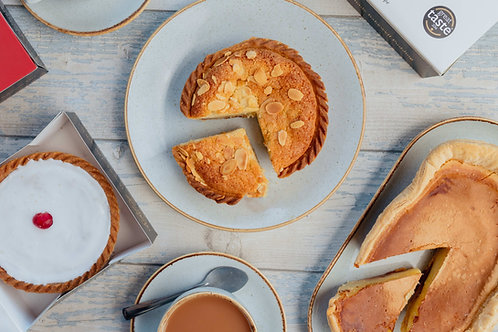 Bakewell Pudding or Tart and Recipe Tea Towel
