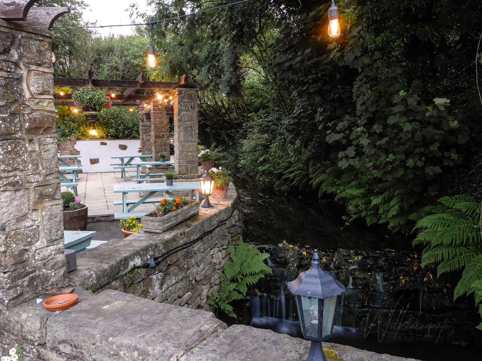 The Scotsman's Pack's patio