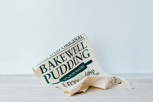Bakewell Pudding Recipe Tea Towel