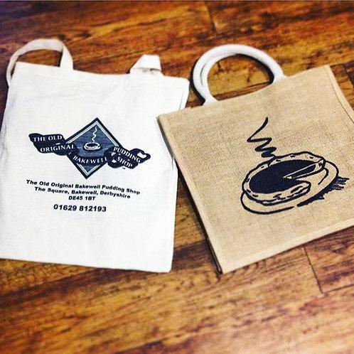Bakewell Pudding Shop Cotton Bag