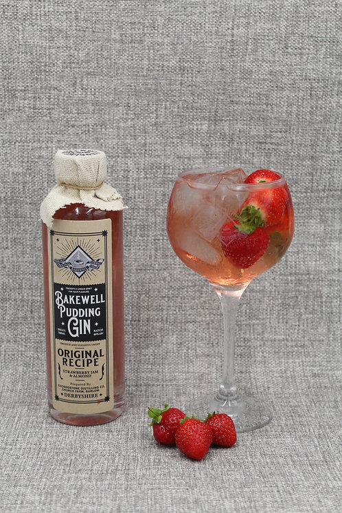 Bakewell Pudding Gin & Bakewell Gin Glass