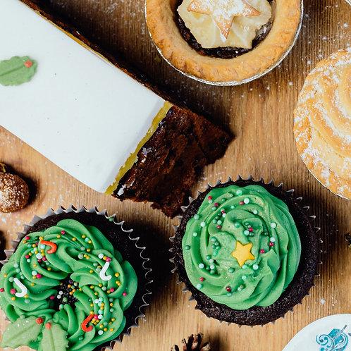 Luxury Bakewell Bakery Christmas Hamper