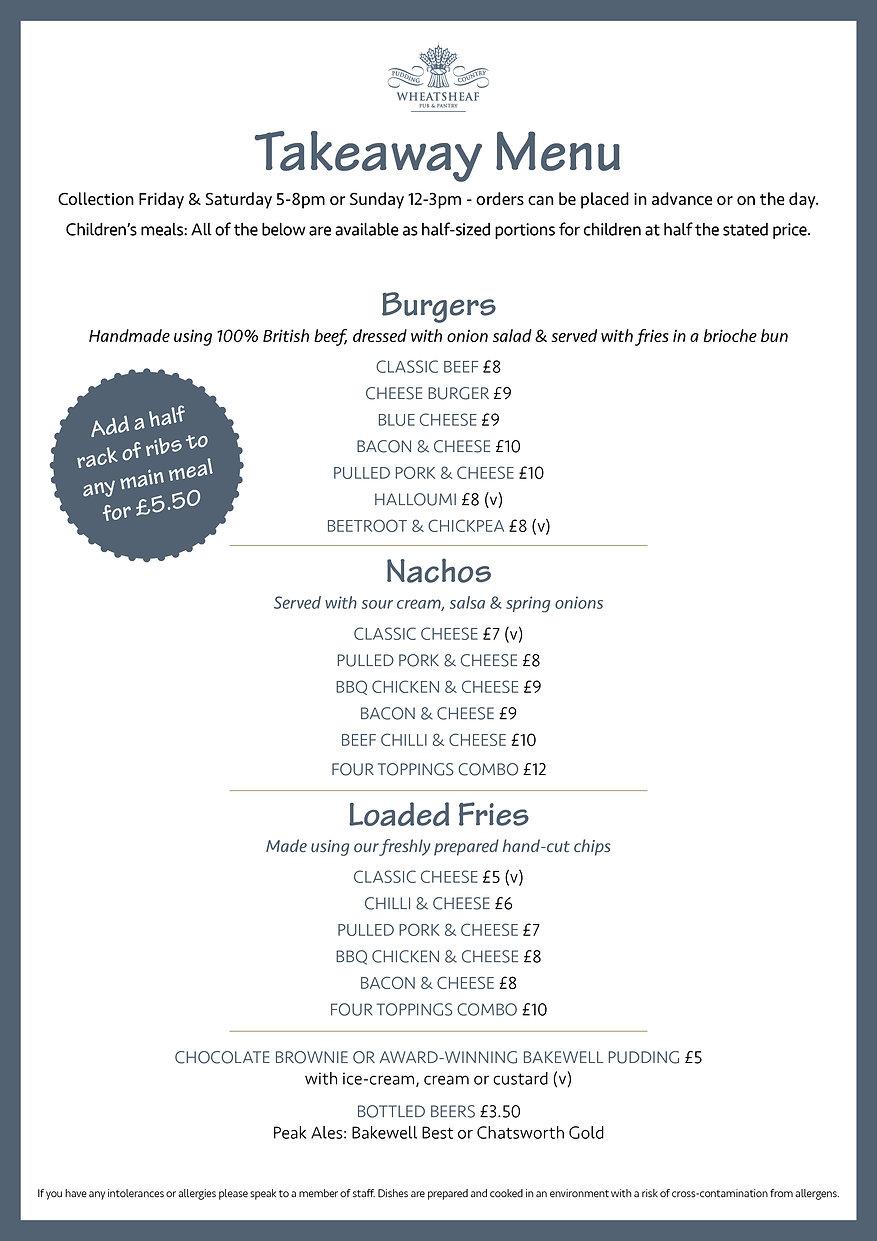 Wheatsheaf takeaway menu MARCH 2021 A4.j