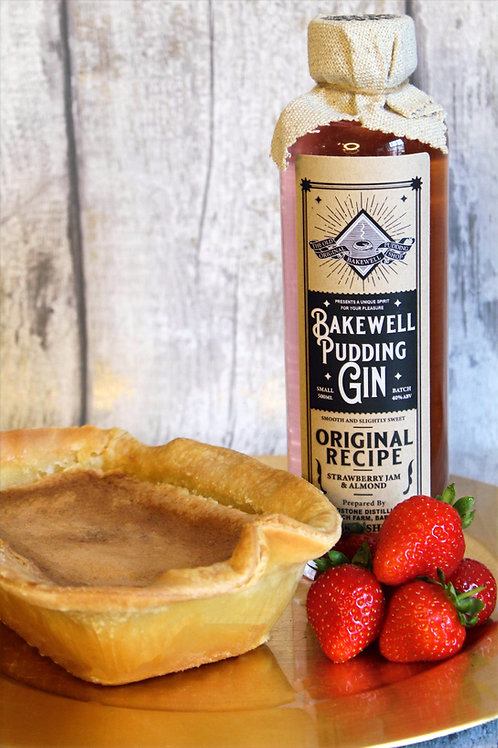 Bakewell Pudding Gin & Bakewell Pudding or Tart