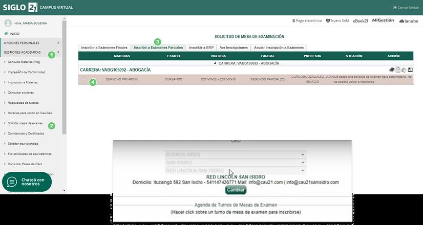 Inscripcion a paricales_Pasos inscripció
