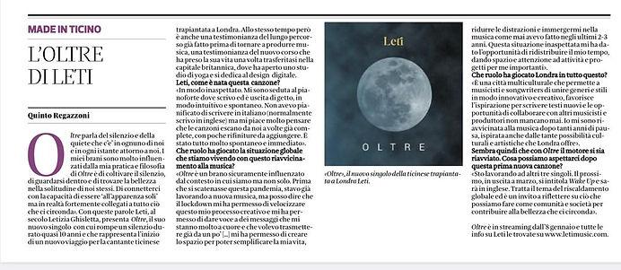 L'oltre di Leti - Corriere del Ticino.jp