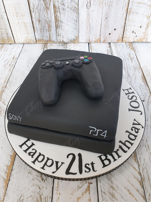 PS 4 Birthday Cake