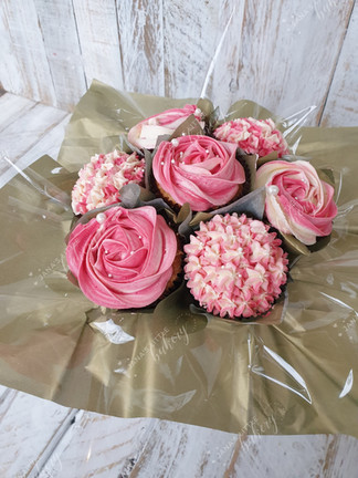 Vegan Cupcake Bouquet