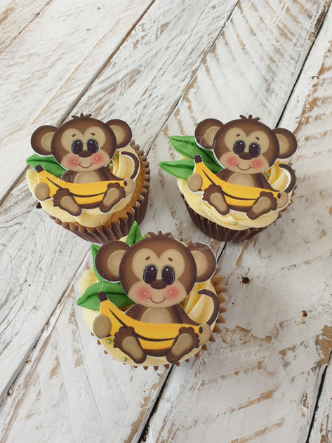 Cupcakes For a Little Monkey