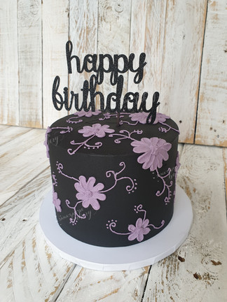 For a Girl Who Love Black and Purple