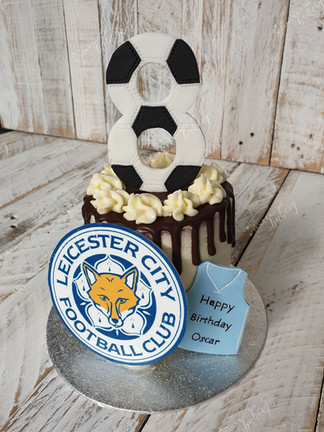 Leicester City Themed Cake