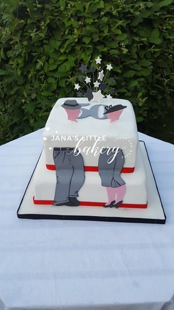 Vanilla Birthday Cake with Buttercream