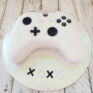 Xbox Console Chocolate Vegan Cake