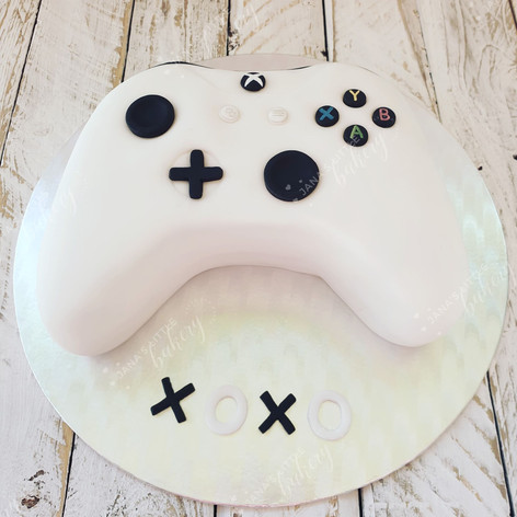 Xbox Console Chocolate Vegan Cake