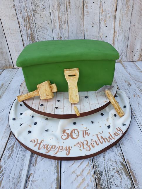 Upholstery Themed Cake