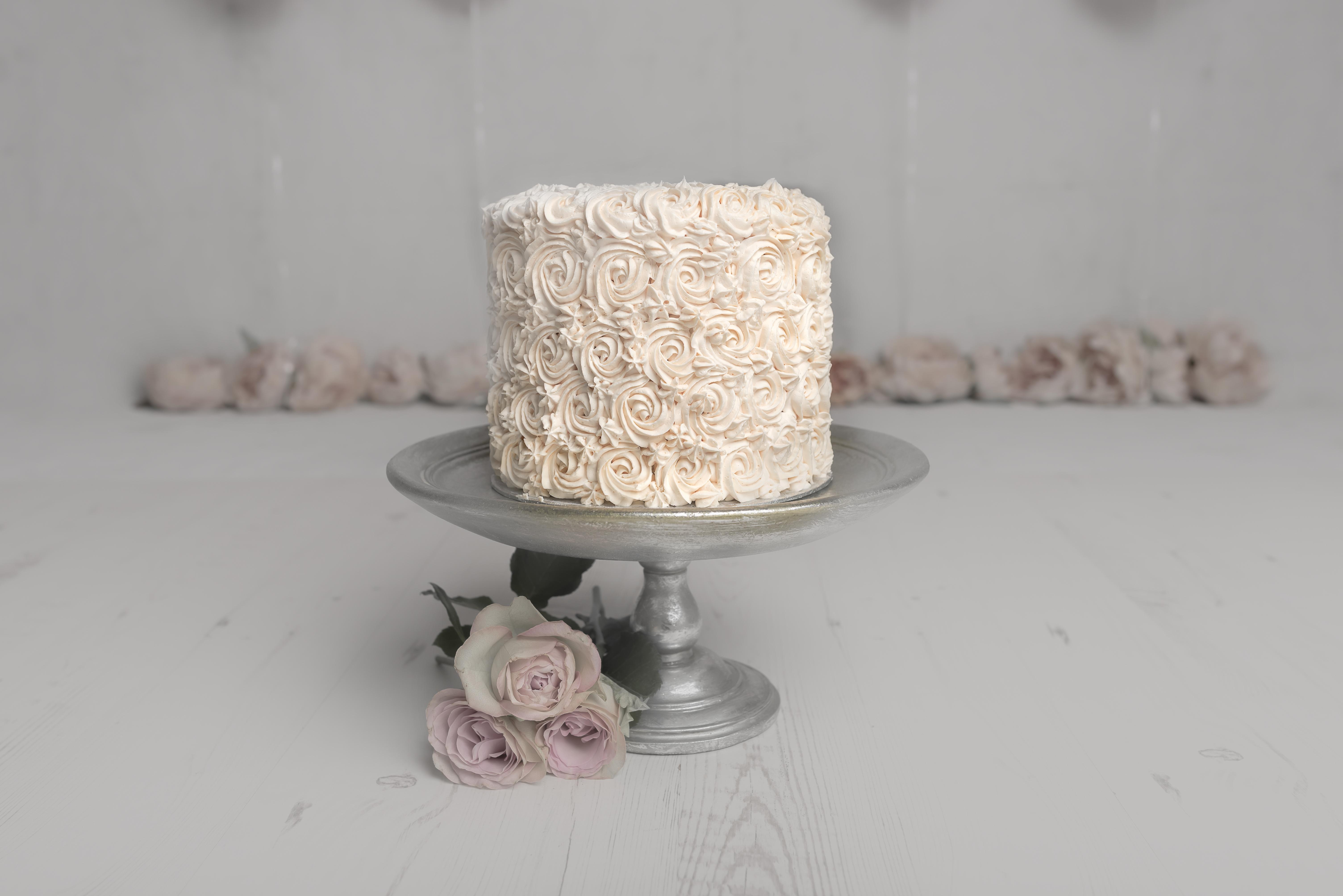 Rose Style Cake
