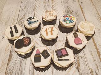Make up, Phone and Nike Cupcakes