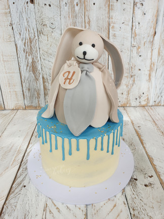 Little Drip Cake with Favourite Cuddle Toy Imitation