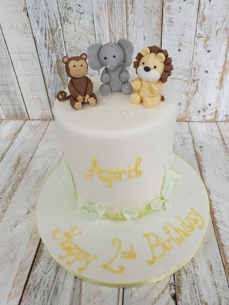 Tall Jungle Cake