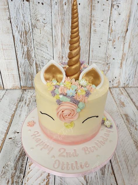 Unicorn Chocolate Cake