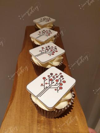 Company Themed Cupcakes