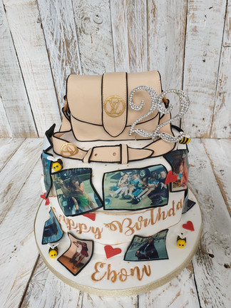Memories Cake For Girl Who Loooves Handbags