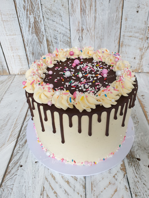 Gluten Free Drip Cake