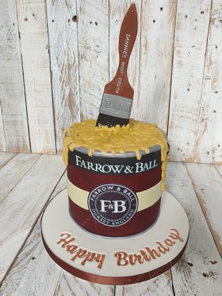 Farrow & Ball Paint Tin ake
