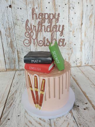 Birthday Cake For a Lovely Teacher