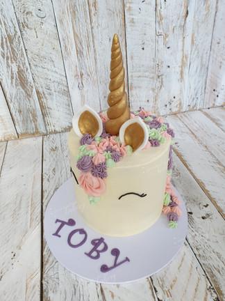 Little Unicorn Chocolate Cake