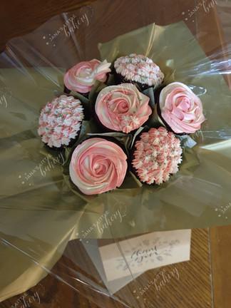 Thank You Vegan Cupcake Bouquet
