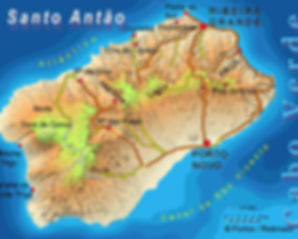 santo antao in cape verde islands