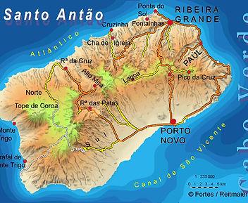 walking trails in santo antao island