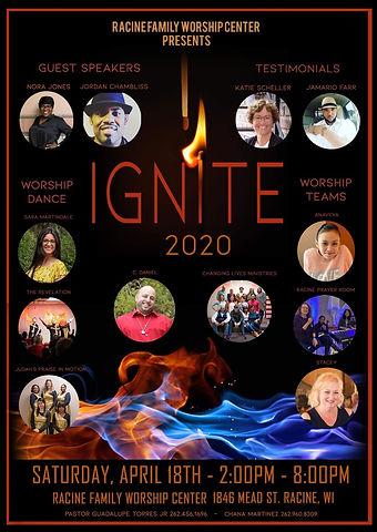 Racine Family Worship Center  April 2020