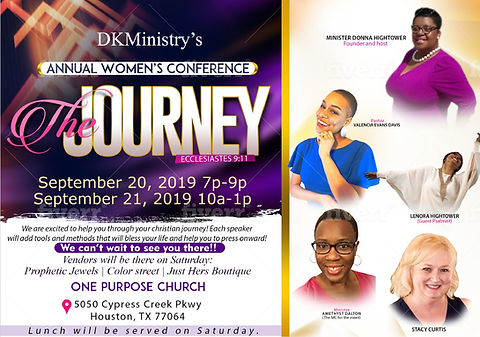 DK Ministry's Women's Conference  Septem