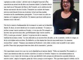 ENTREVISTA EN LA NUEVA ESPAÑA, SOBRE REDES SOCIALES Y PRIVACIDAD