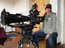 camera operator on Czech Television