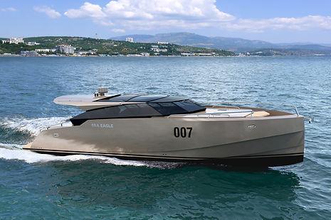 Sea Eagle-50 - aluminum motor yacht