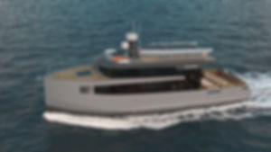 Expedition - aluminium motor boat