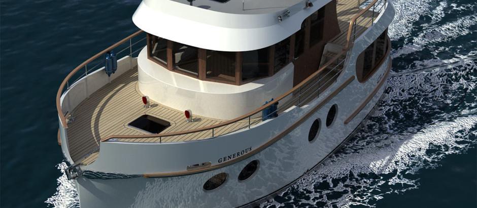 Новость: Работы над проектом яхты 12,5 метров