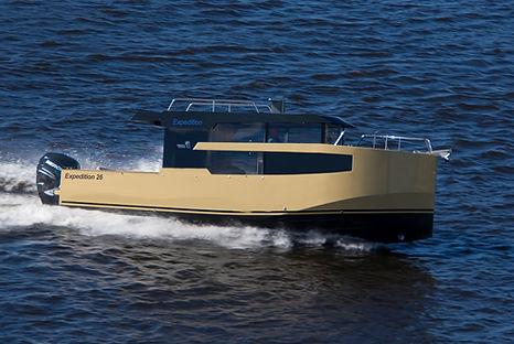 Aluminum powerboat Expedition-26