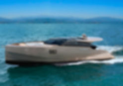 Алюминиевая моторная яхта 15 метров Seа Eagle