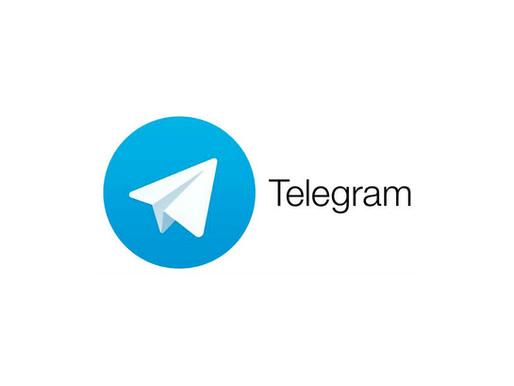 We are in Telegram!