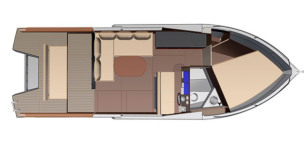 Expedition-3 - алюминиевый моторный катер