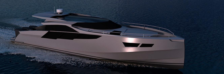 Sea Wolf - aluminium motor yacht